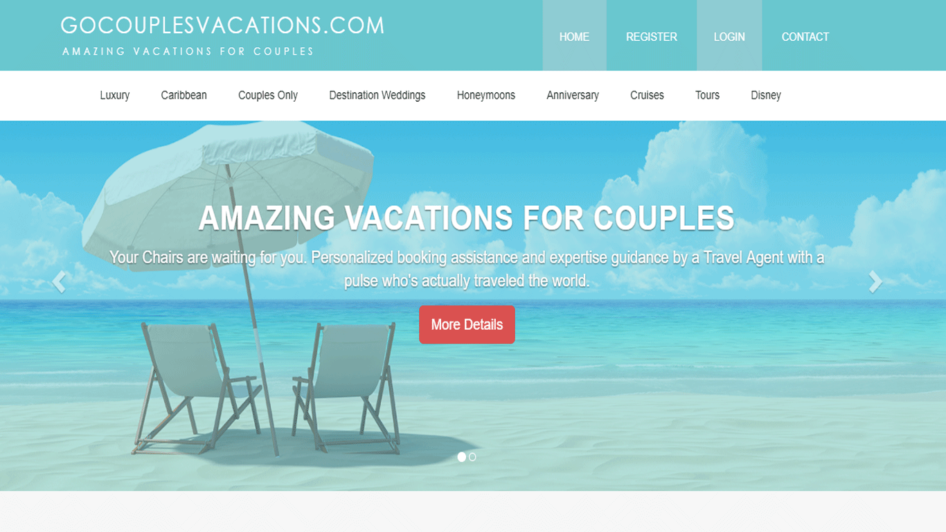 Couples vacations excellent when couples take separate for Cool vacations for couples